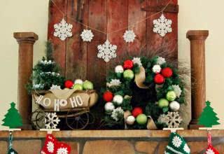 Fotos e ideias de decoração de Natal