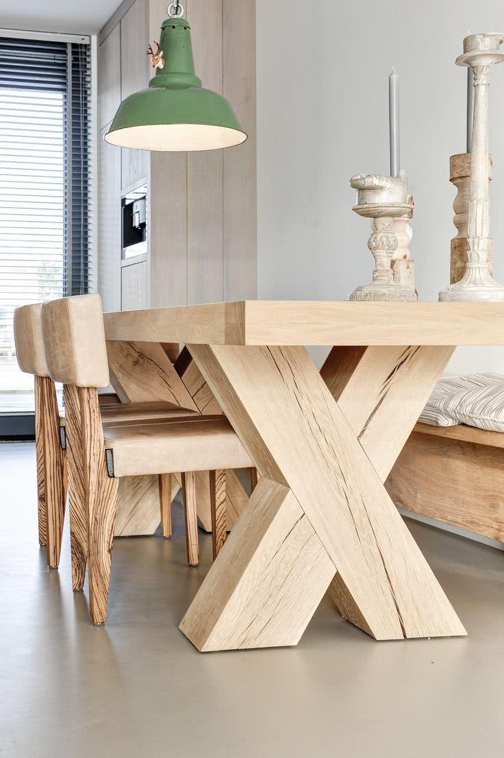 50 modelos de mesa de jantar com cadeiras fotos for Modelos de mesas cuadradas
