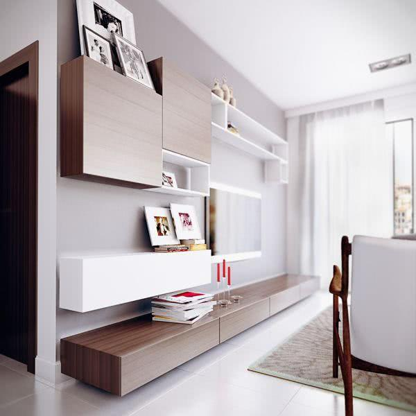 Sala de TV simples