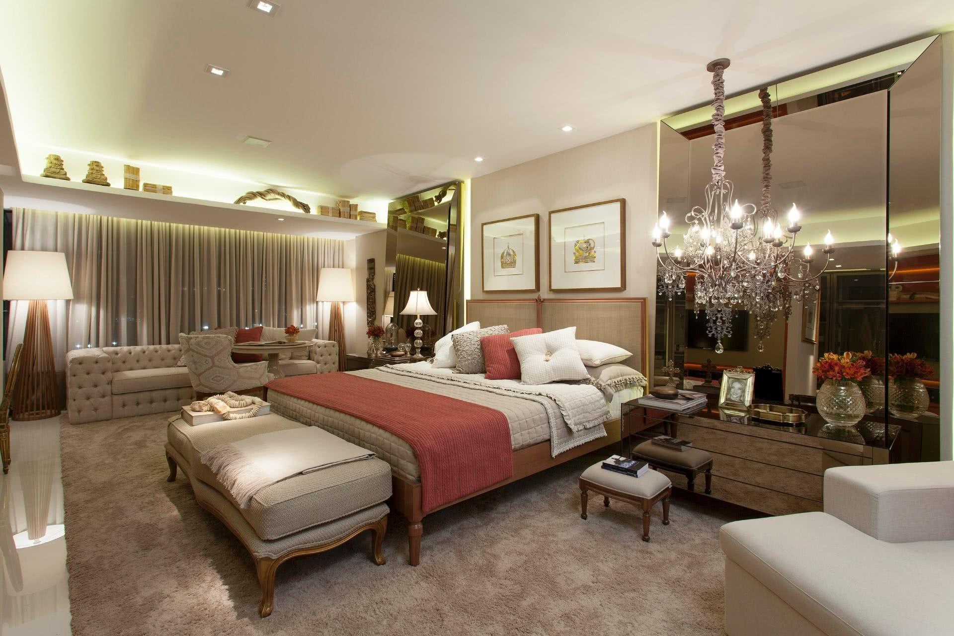 75 modelos de espelho bronze na decora o de ambientes for Ambientes modernos interiores
