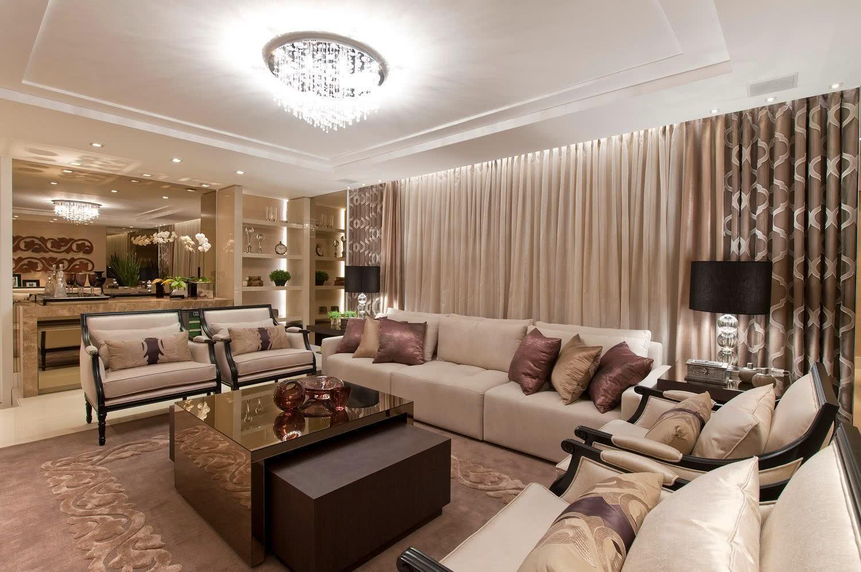 75 modelos de espelho bronze na decora o de ambientes. Black Bedroom Furniture Sets. Home Design Ideas