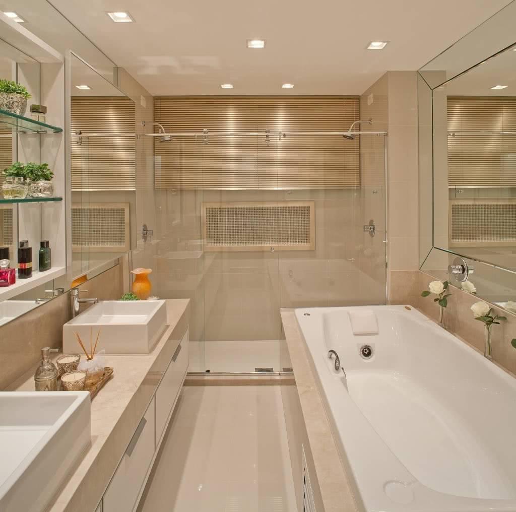 Banheiro com estilo clean