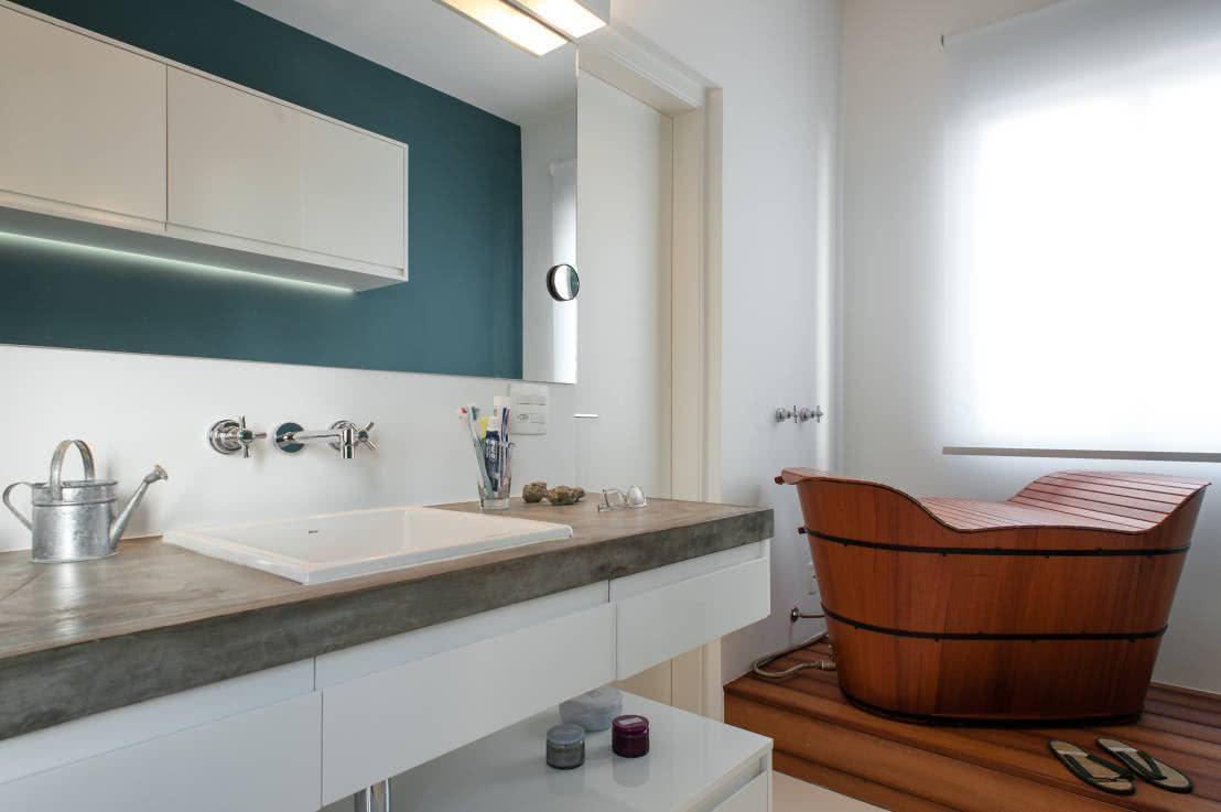 O ofurô é um outra opção que pode substituir facilmente a banheira