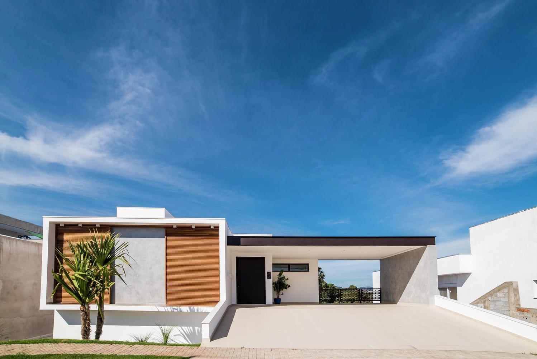 90 fachadas de casas t rreas modelos e fotos incr veis for Casa moderna l