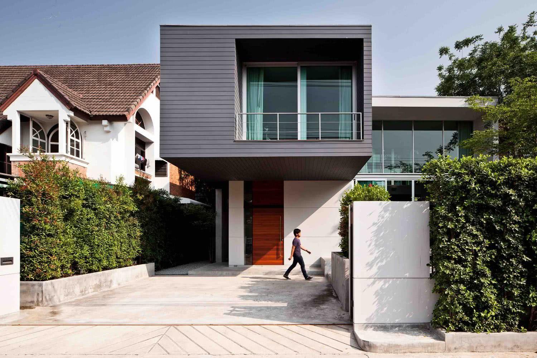 90 fachadas de sobrados modernos projetos incr veis for Villa bonita mucho lote