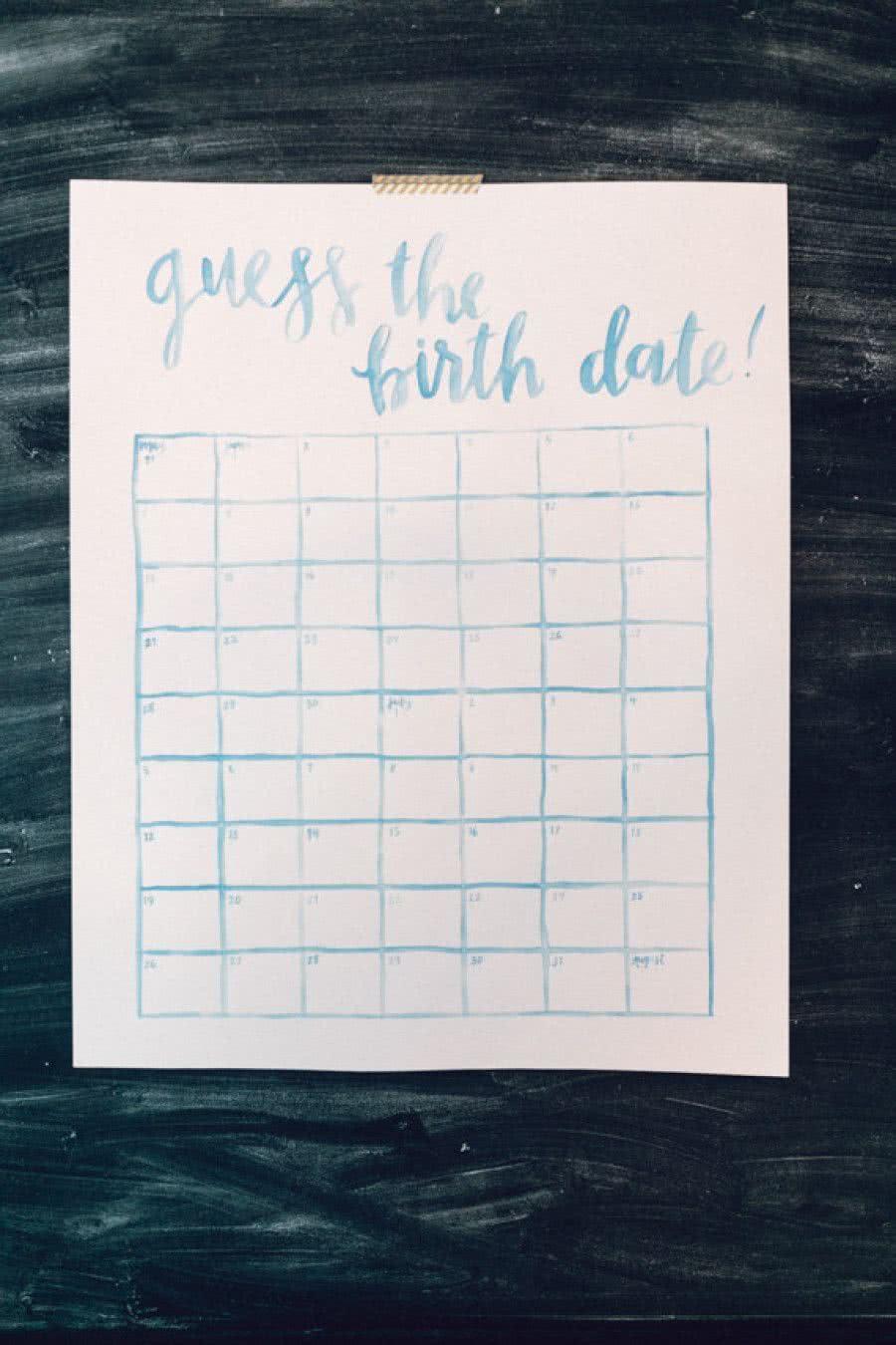 Entretenha os convidados com a brincadeira de adivinhar a data de nascimento. Quem acertar em cheio, recebe um mimo especial depois