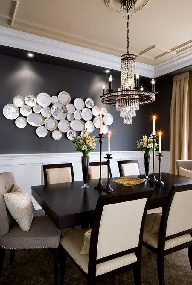 50 modelos de mesa de jantar com cadeiras fotos for Beautiful dining room photos