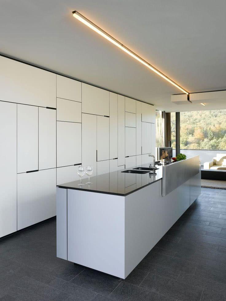 52 cozinhas modernas planejadas com fotos incr veis - Witte keukenfotos ...