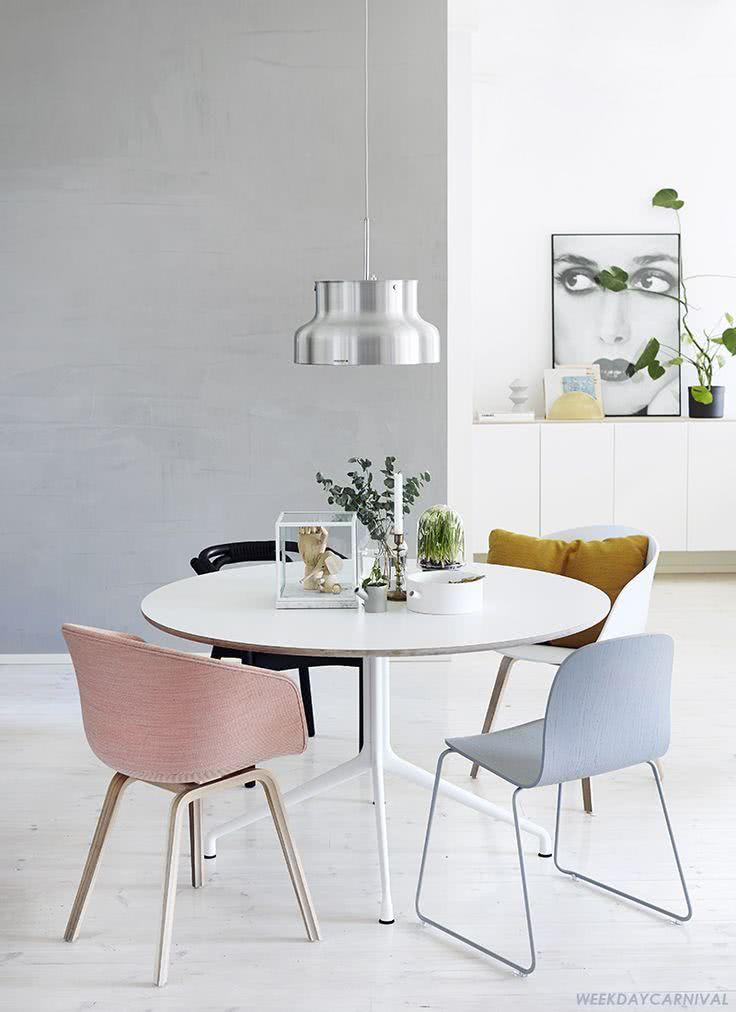 50 modelos de mesa de jantar com cadeiras fotos for Esszimmerlampen design