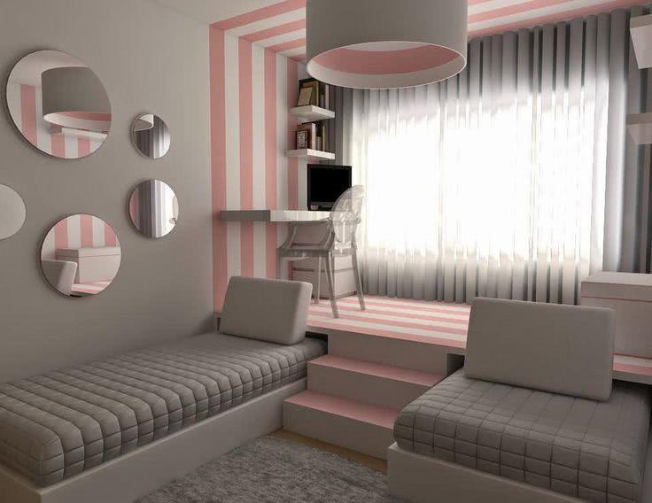 50 quartos de crian as com mesas de estudo decoradas for W and p design