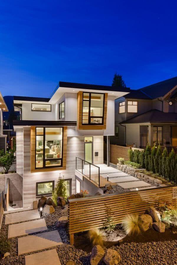 Casa Designer 3d Home Makeover App For Ipad: 40 Calçadas Residenciais Modernas