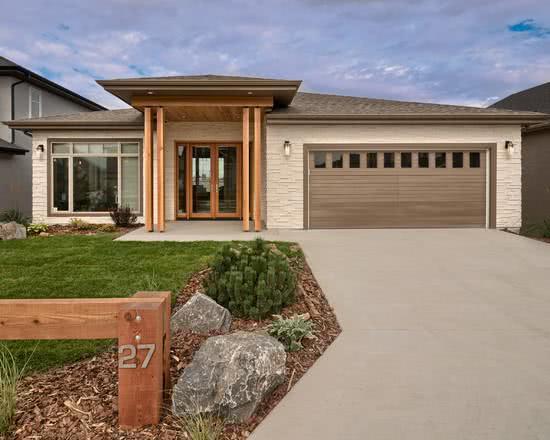 90 fachadas de casas t rreas modelos e fotos incr veis for Piano casa con garage