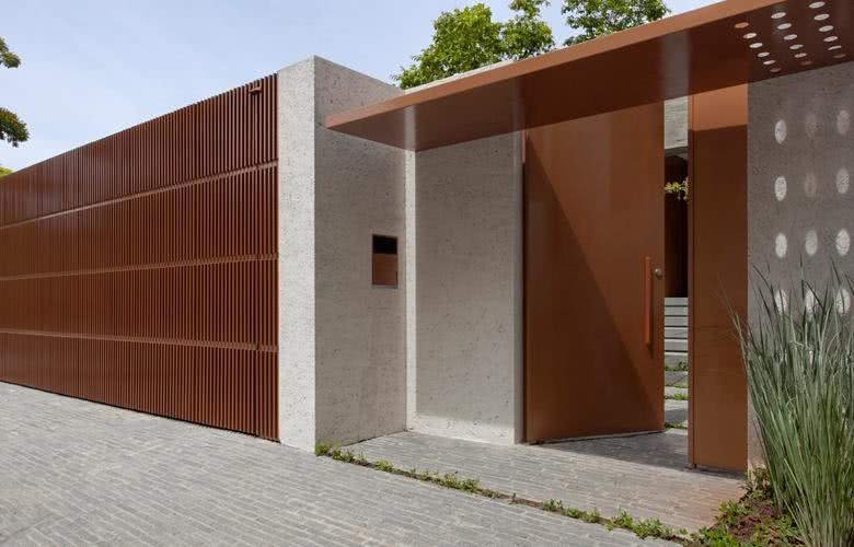 40 cal adas residenciais modernas modelos e fotos - Muros decorativos para exteriores ...