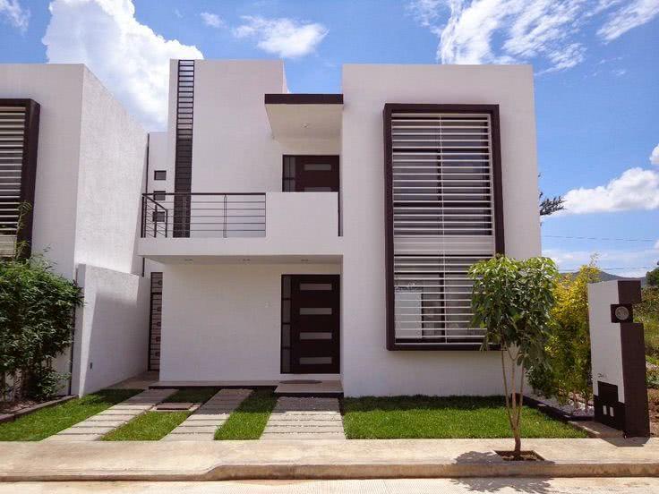 90 fachadas de sobrados modernos projetos incr veis for Fachadas de viviendas de una planta