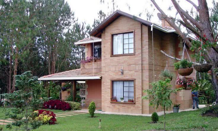 Casa de campo 95 modelos projetos e fotos incr veis for Como construir una casa de campo