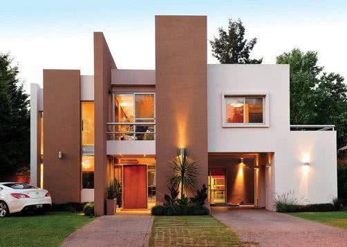 90 fachadas de sobrados modernos projetos incr veis for Construcciones minimalistas