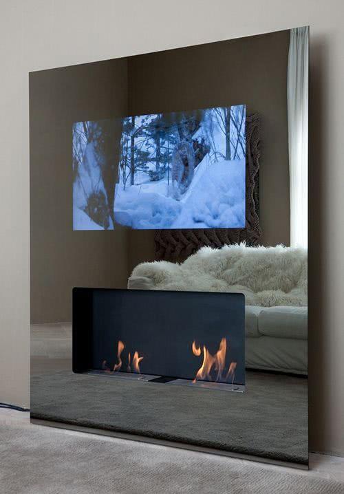 Resultado de imagem para painel de vidra para tv