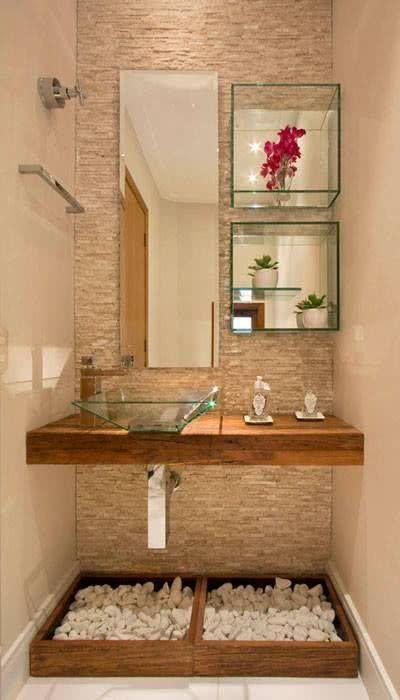 87 Ideias de Decoração com Nichos Modelos e Fotos! -> Nichos Para Banheiro Artesanal