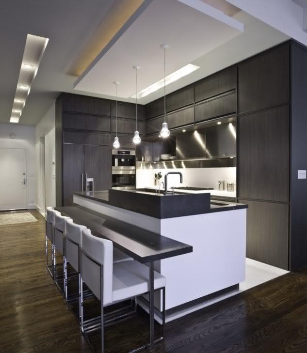 Led Light Fixtures For Drop Ceilings Sanca de Gesso e Forros: 75+ Modelos com Fotos!
