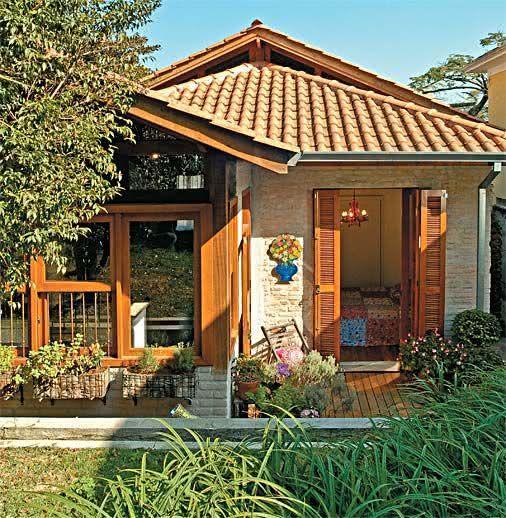 Casa de campo 95 modelos projetos e fotos incr veis - Casas estilo romantico ...