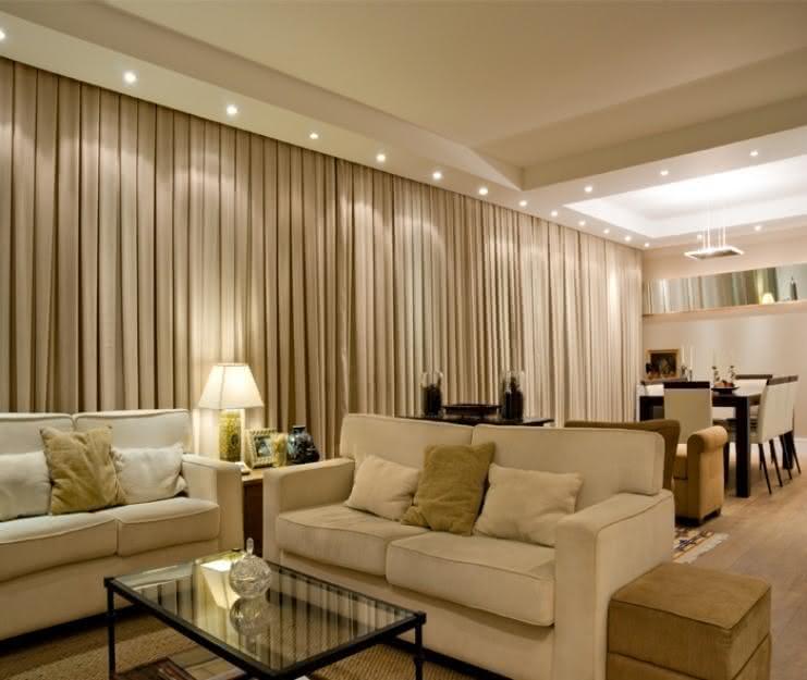 Tipos de cortinas veja 50 fotos com exemplos pr ticos for Modelos de cortinas modernas para sala y comedor