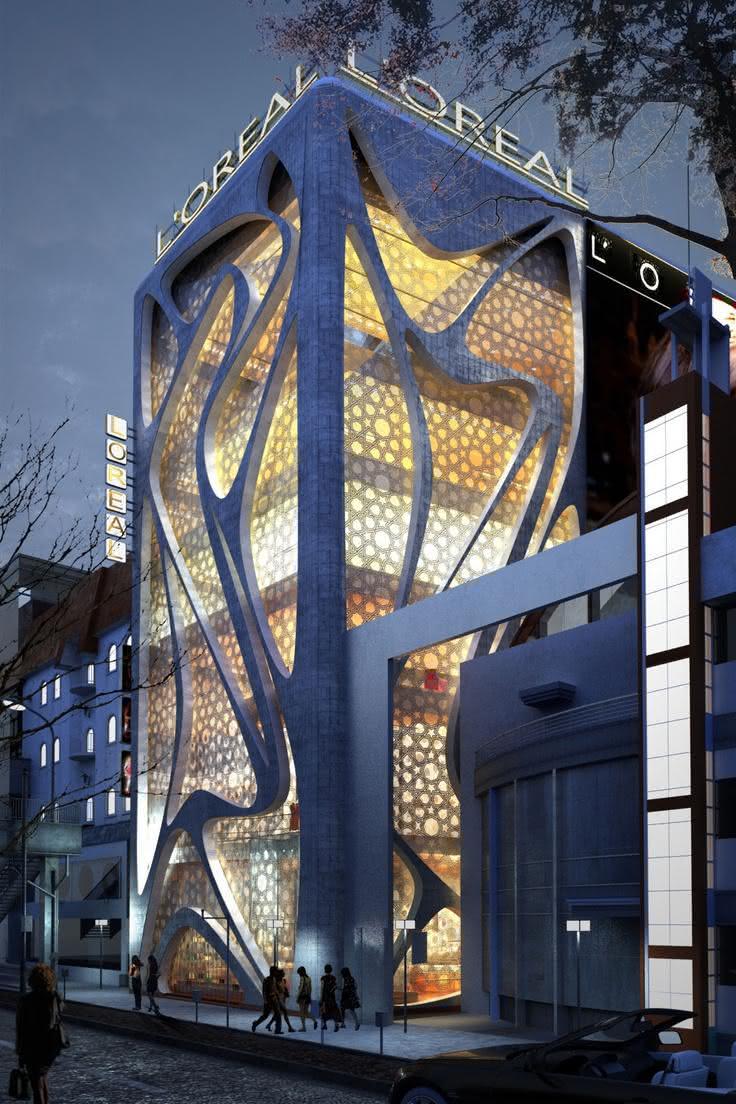 50 Fachadas De Lojas Comerciais Modernas Para Te Inspirar
