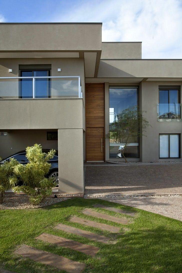 40 cal adas residenciais modernas modelos e fotos - Pintura casa moderna ...