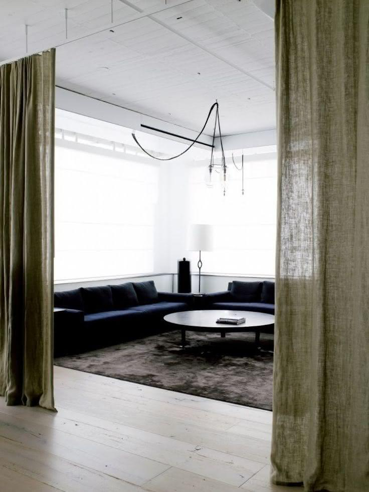 Tipos de cortinas veja 50 fotos com exemplos pr ticos - Cocinas schmidt vitoria ...
