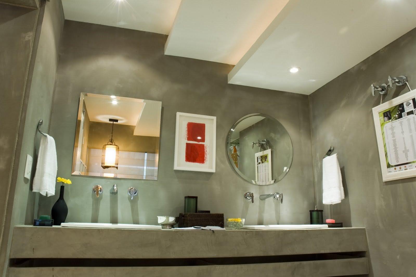 Sancas e Forros de Gesso: 75  Modelos e Fotos! #937138 1600x1064 Banheiro Cimento Queimado E Pastilhas