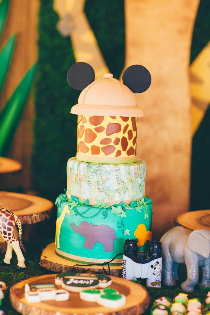 Uma das variações do tema mais procurados é o Mickey Safari
