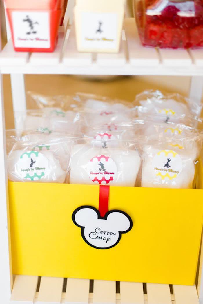 Algodão doce é sempre uma boa ideia!