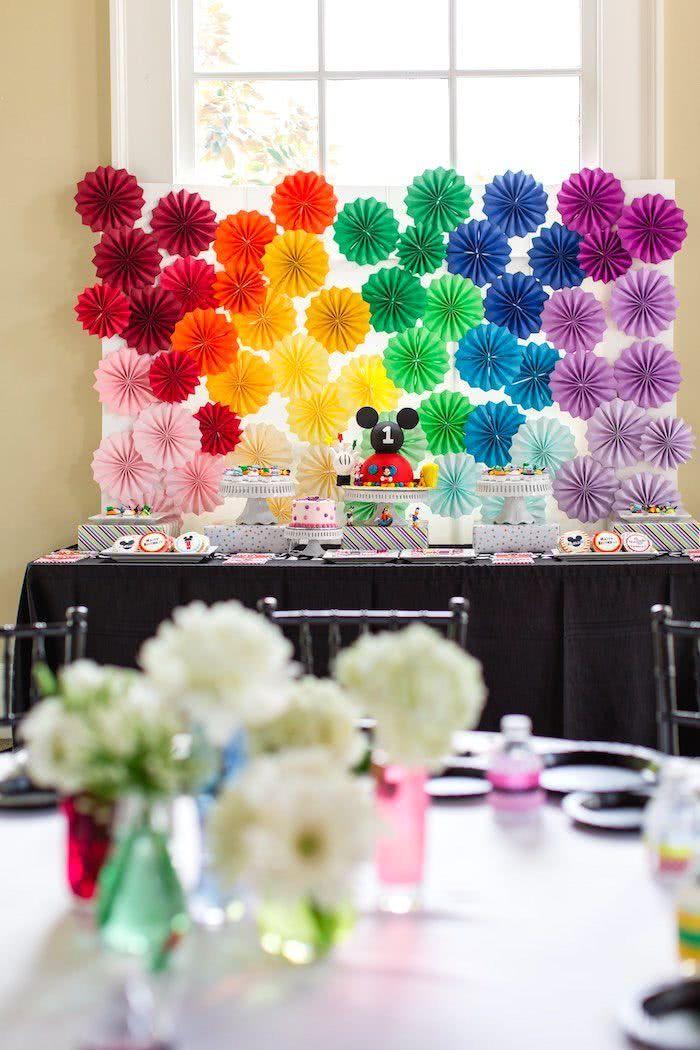 Crie um efeito fantástico com uma explosão de cores!