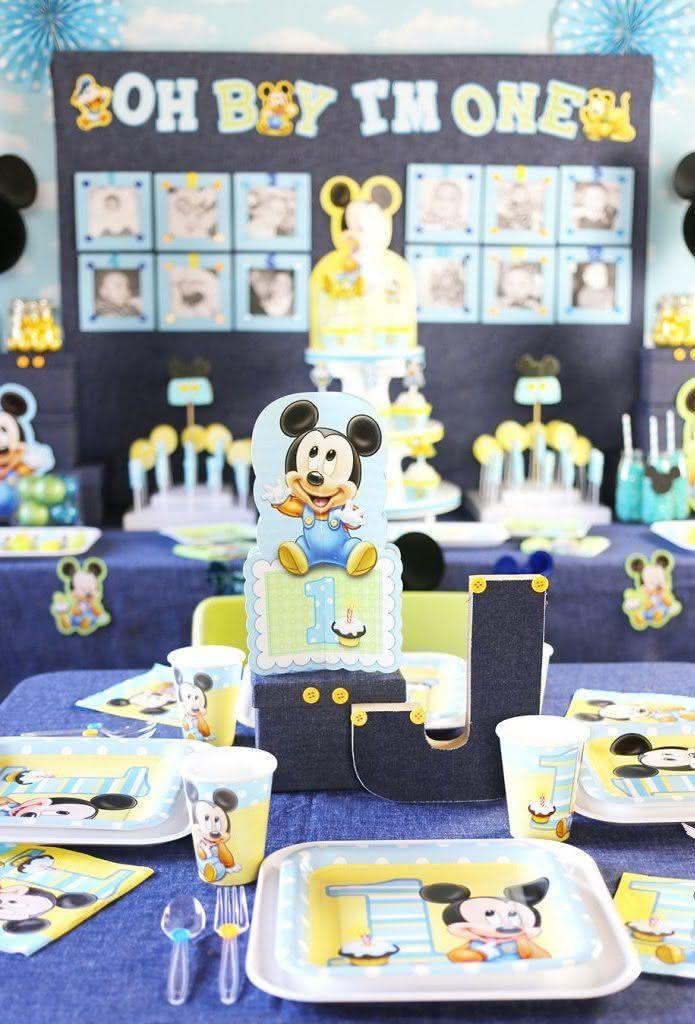 Eleja a discreta cartela candy color em aniversários de bebê.