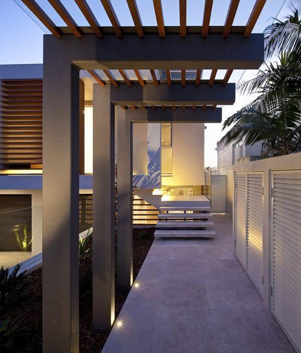 85 modelos de pergolado em reas externas fotos for Design hotel few steps from the david