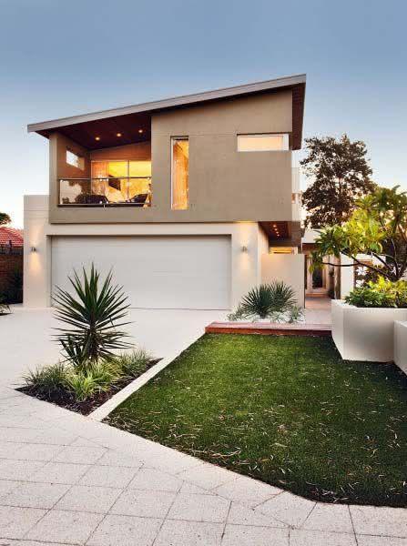 109 fachadas de casas simples e pequenas fotos lindas for Casas pequenas modernas minimalistas