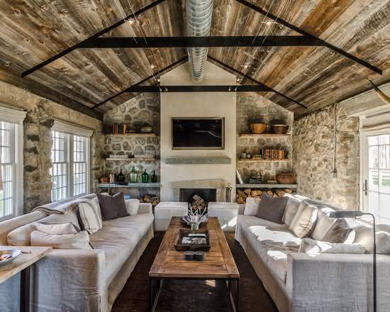 Decoração rústica: descubra 70 fotos de ambientes decorados
