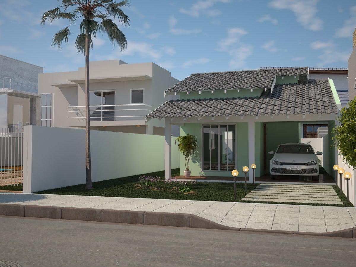 109 fachadas de casas simples e pequenas fotos lindas for Casas casas