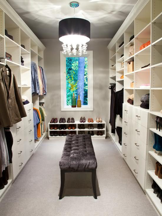 50 closets femininos decorados incr 237 veis fotos luxury walk in closet pictures for inspiration