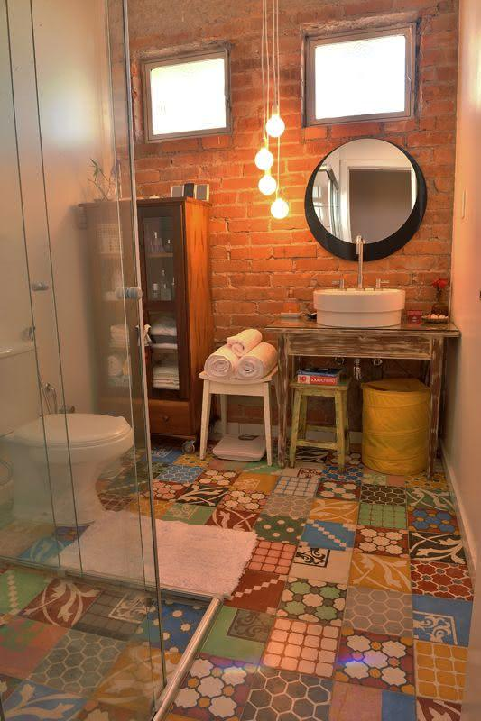 Imagem 7 – Decoração Rústica Para Cozinha~ Decoracao Rustica Para Ambientes Pequenos