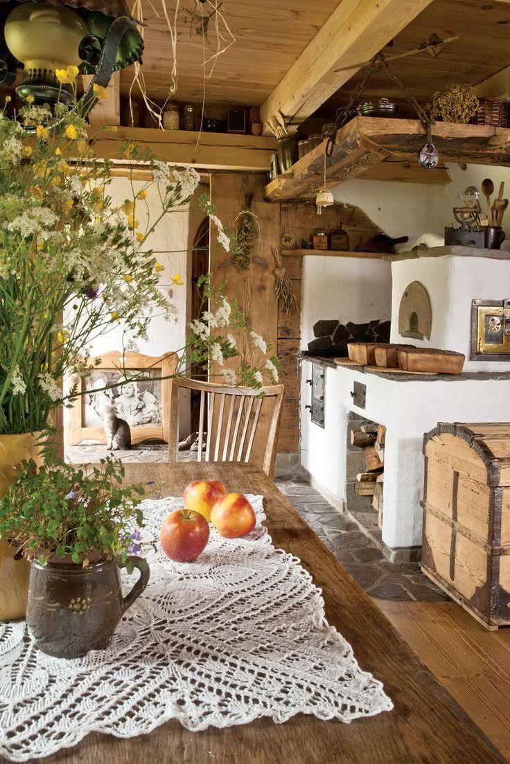 90 cozinhas com fog o a lenha para o seu projeto for Como e living room em portugues
