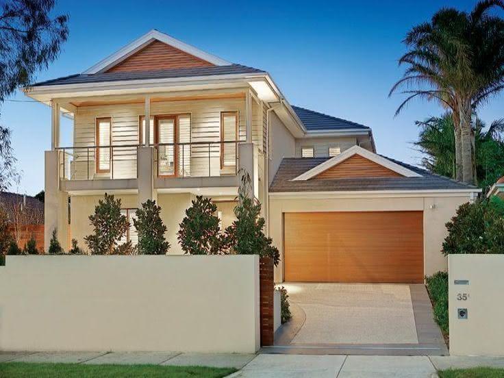 109 fachadas de casas simples e pequenas fotos lindas for Modelos jardines para casas pequenas