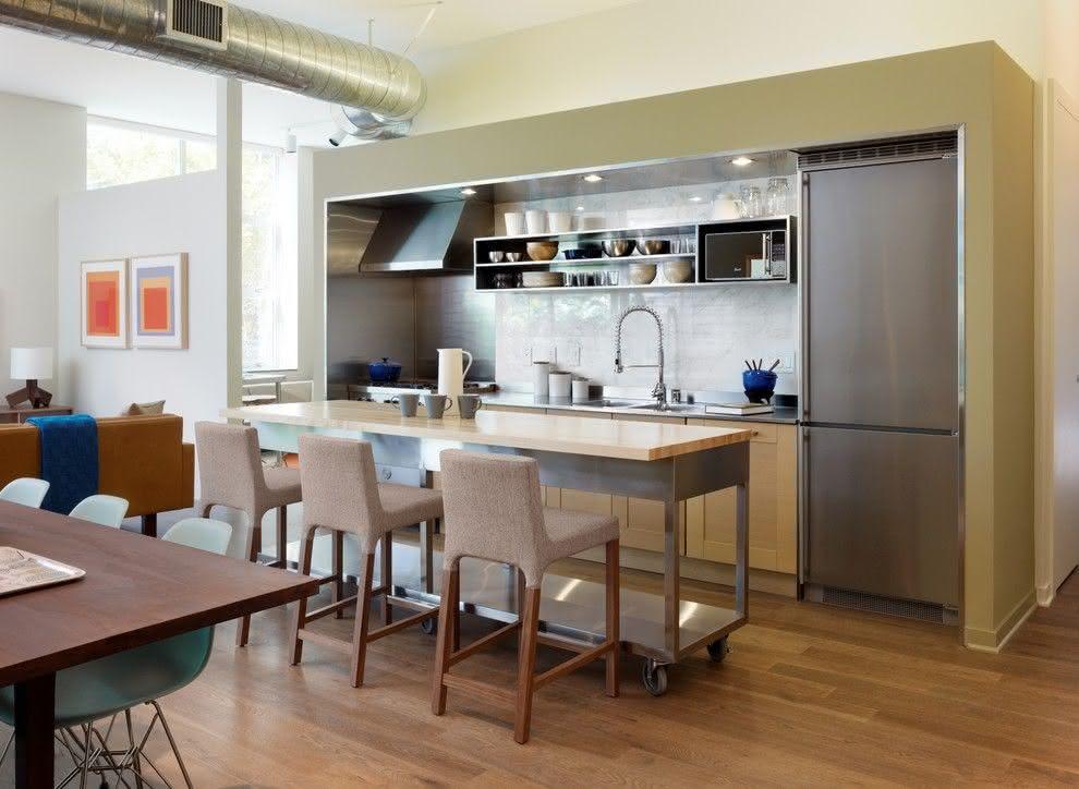 Cozinhas com ilha central projetos e fotos incríveis