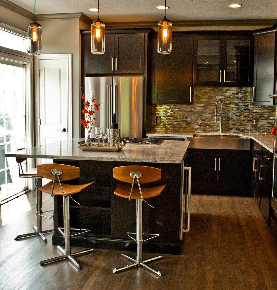 Cozinha Pequena Com Ilha Cozinha Pequena Planejada Oramento