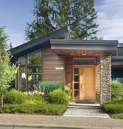 109 fachadas de casas simples e pequenas fotos lindas - Casas rusticas modernas fotos ...