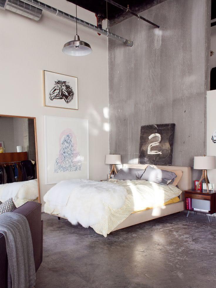 50 Quartos De Casal Cinza Inspiradores Fotos