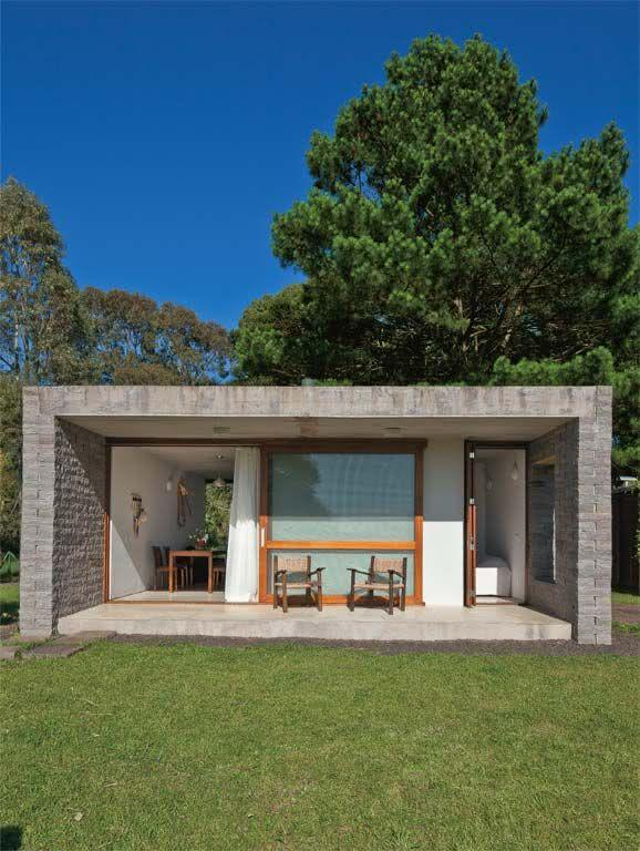109 fachadas de casas simples e pequenas fotos lindas for Arquitectura moderna casas pequenas