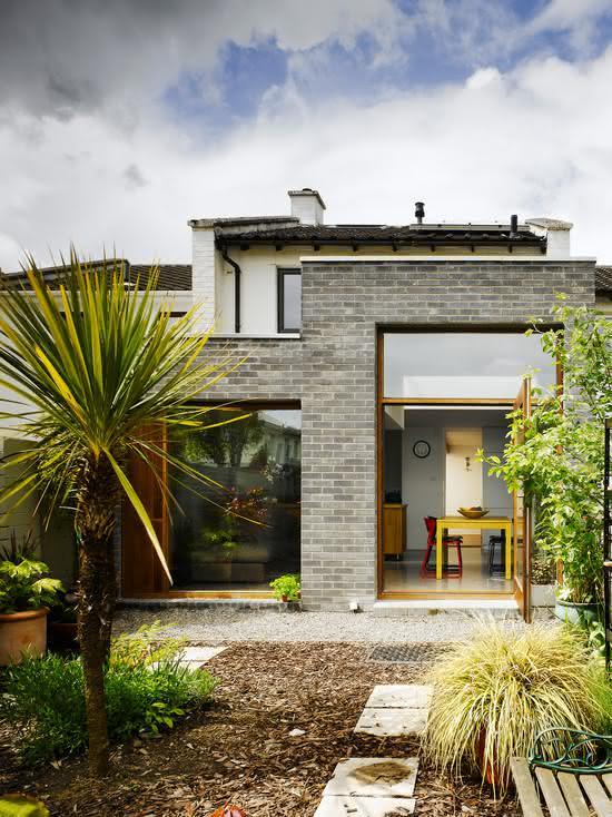 Как сделать дом с панорамными окнами 46