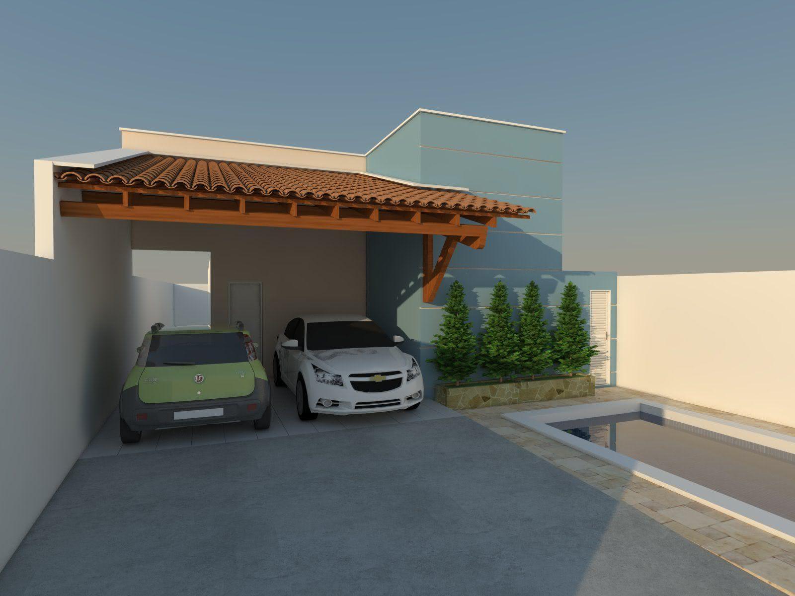 50 Modelos De Garagem Para O Seu Projeto Inspire Se