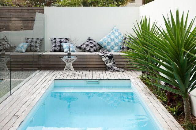 49 fotos de paisagismo para piscinas inspire se - Piscinas y jardines ...