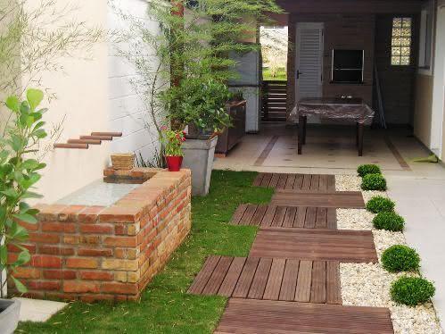 50 jardins pequenos incr veis para casas e apartamentos for Casas e jardins simples